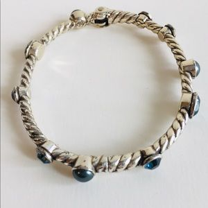 Brighton Monte Carlo Bluestone Bangle